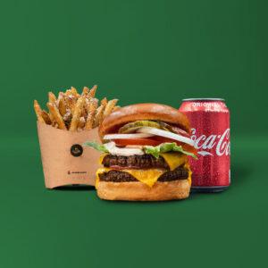 Double Shack Burger Menu