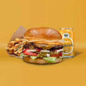 Hot Shack Burger Menu